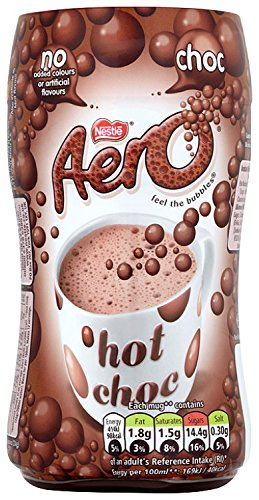 Nestle Aero Instant Bubbly Hot Chocolate Drink 288g
