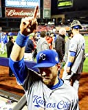 "Ben Zobrist Kansas City Royals 2015 World Series Action Photo (Size: 8"" x 10"")"