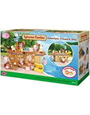 Sylvanian Families Adventure Treasure Ship,Playset