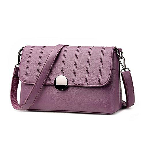 Sprnb Son Todos Ellos Coinciden Con La Pequeña Bolsa Bolso Casual Bolsas Bolsa De Mujer, Rosa Violet