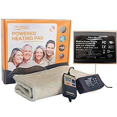 70% Off !!! New Version Far Infrared Thermal/Heating Pad, Warm, Shoulder, Back, Limb, Neck, Foot, Carbon Fiber (DR3663) (Cover Using)