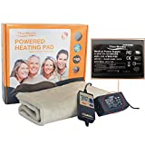 TherMedic DR3663N 30 x 60 cm Infrared Full Back DC Heating Pad / Infrarouge Coussin Chauffant - Non-electrical wires/ No EMF (Electromagnetic Waves)(For Use As Cover Only!)