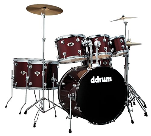 ddrum D2 BR AD1 D2 Ad on 8 and 14 Toms Red (Drum Ddrum Red)