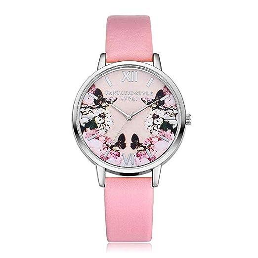Scpink Mujeres Relojes de Cuarzo 5fd2e6637cb4