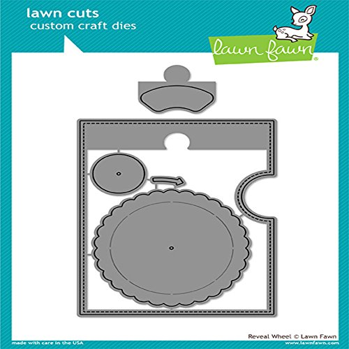 Lawn Fawn Lawn Cuts Custom Craft Die - LF1703 Reveal Wheel by Lawn Fawn