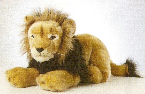 Löwe Leo  insg. 52 cm  Lion Plüschlöwe Plüschtier Plüschtier Plüschtier fd4db0