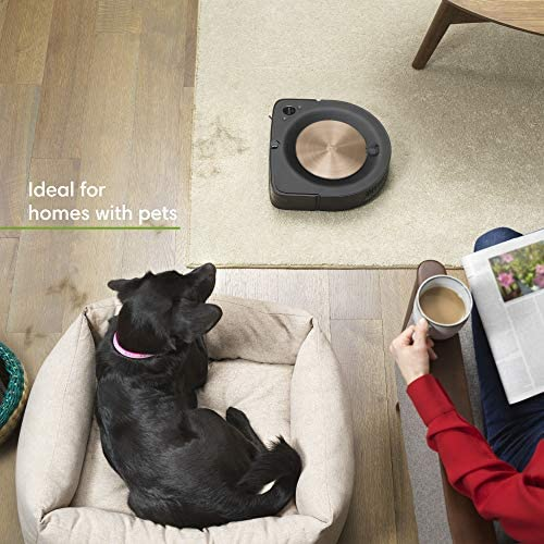 iRobot Roomba s9+ (9550) Robot Vacuum & Braava Jet m6 (6112) Robot Mop Bundle - Wi-Fi Connected, Smart Mapping, Powerful Suction, Precision Jet Spray, Corners & Edges, Ideal for Multiple Rooms