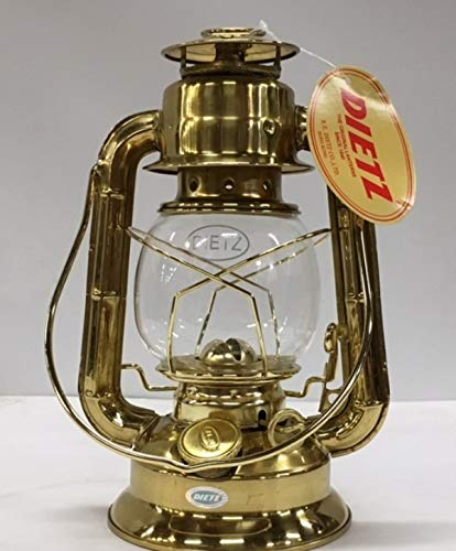 W T Kirkman Lanterns Inc Dietz #50 Comet Solid Brass/Limited Quantity Avaliable