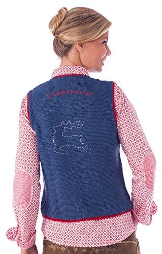 orbis Textil - Manteau sans manche - Femme Bleu Bleu