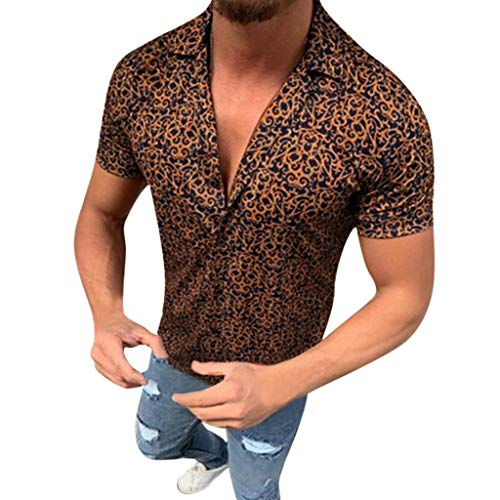 MmNote mens clothes clearance sale, Mexican Style Body Shaper Button Active Performance SportsShort Sleeve T-Shirt Blue (Best Pizza Hut Menu Item)
