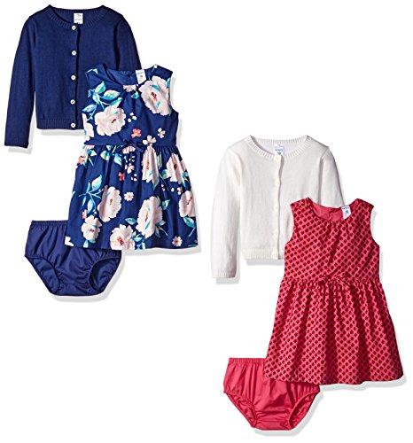 Carters Girls 6 Piece Cardigan Dress product image