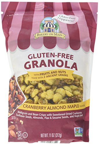 Bakery On Main Granola Gluten Free Nutty Cranberry Maple, 11 oz