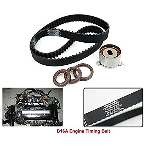 Tensor de correa para Honda Civic 1.6L VTEC - EG2/6/9 EK4 88 - 01 B16 A DOHC VTEC: Amazon.es: Coche y moto