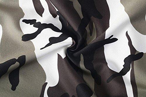 Sportivi Pantaloni Esercito Moda Vintage Donna Giovane Tempo Libero High Sciolto Ragazza Grau Basic Militari Waist Palestra Tuta Eleganti Training Trousers gSwdqAd8