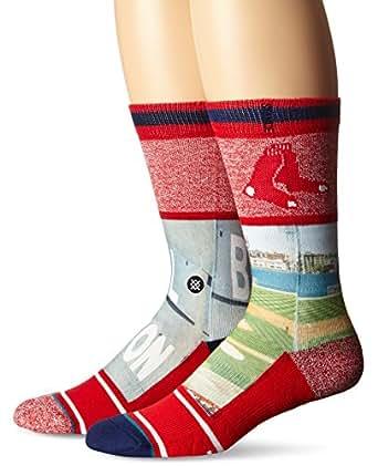 Stance Fenway Red Men's MLB Diamond Socks