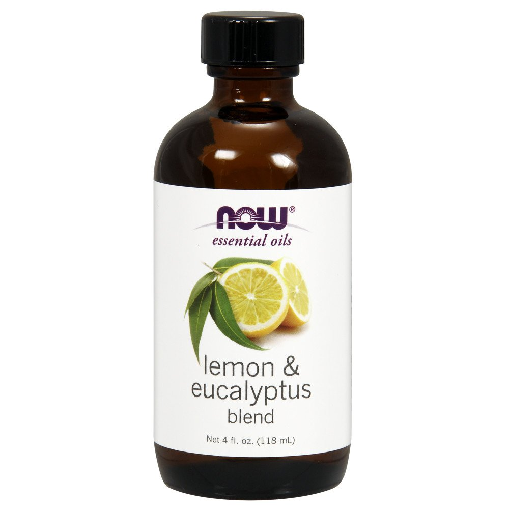 Now Solutions Lemon & Eucalyptus Essential Oil Blend, Citronella-Like, 4 Ounce