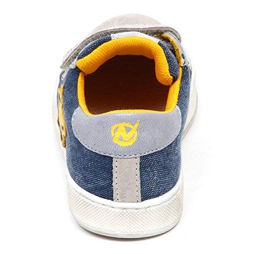 Kid Strappi Naturino Bimbo E3612 Blu Shoe Grigio Sneaker Scarpe Jeans Jeans Grigio Boy blu qRazwq0
