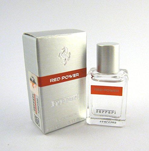 (FERRARI RED POWER for Men by Ferrari EDT Splash Miniature 0.13 oz )