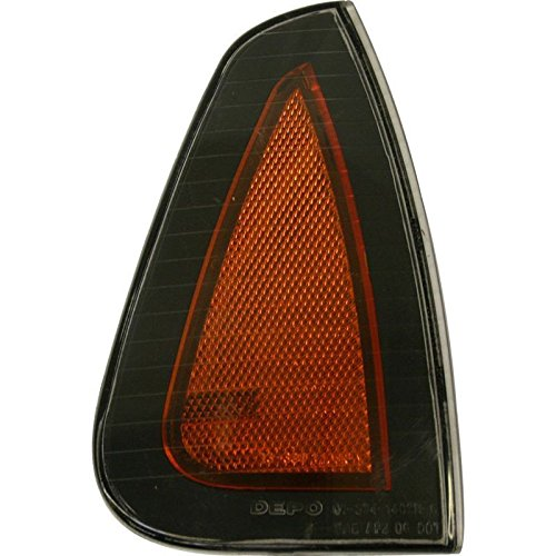 DAT AUTO PARTS Side Marker Light Assembly Replacement for 06-10 Dodge Charger Front Right Passenger Side CH2551126