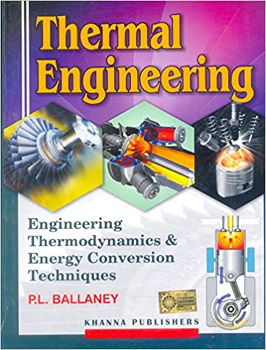 Thermal Engineering By Pl Ballaney Ebook