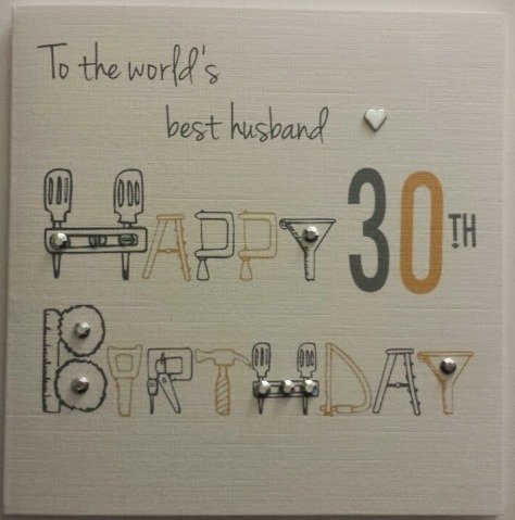 Amazon happy birthday card husband 30th birthday handmade amazon happy birthday card husband 30th birthday handmade card appliances bookmarktalkfo Choice Image