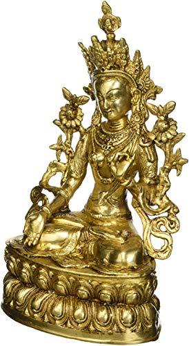 The White Tara – Brass Statue