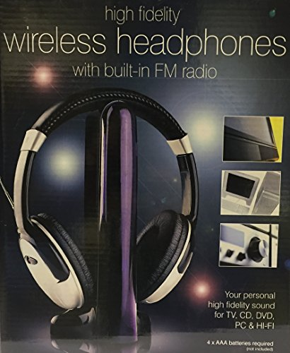 Wireless Headphones with built in FM Radio