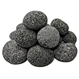 Midwest Hearth 100% Natural Lava Stones for Gas Fire Pit and Fireplace (Medium (1'' - 2''))