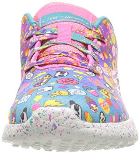 Skechers Kids Girls 'Burst-Emoti-Cutie Sneaker, Multi