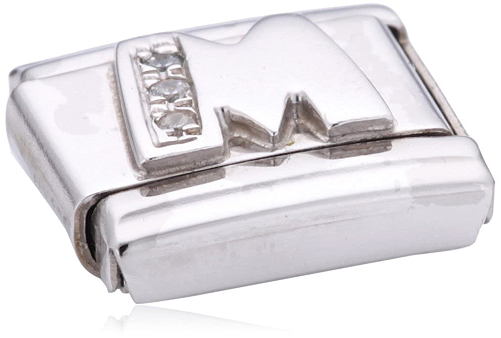 Nomination 330301/13 - Maillon pour bracelet composable Femme - Argent 925/1000 Classic