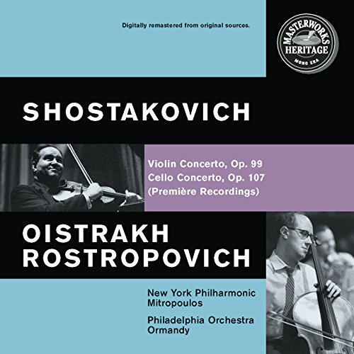 Rostropovich Cello (Shostakovich: Violin and Cello Concertos)