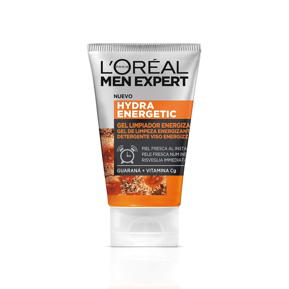 L'Oréal Men Expert Hydra Energetic Gel Limpiador Energizante para Hombres - 150 ml 118 g