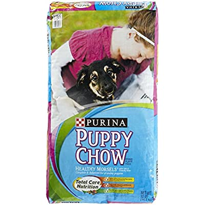 Purina 178112 Puppy Chow Healthy Morsels, 32-Pound
