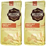 Millstone Hazelnut Cream Ground Coffee, 12 Ounce Packages (Pack of 2)