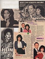 Stepfanie Kramer Fred Dryer original clipping magazine photo lot #Q9827