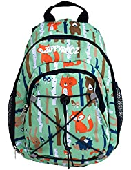 ZippyRooz Toddler & Little Kids Extra SMALL Hiking Backpack for Boys and Girls