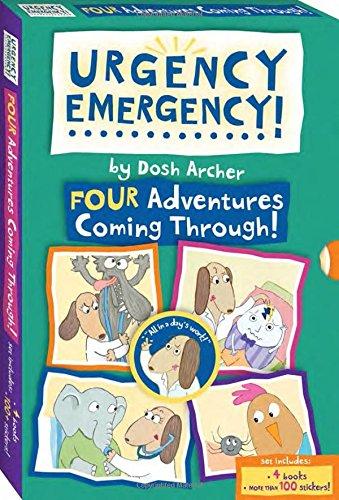 Hood Riding Miss (Urgency Emergency! Boxed Set #1-4)