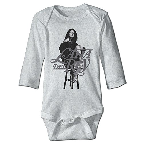 [Bro-Custom Lana Del Rey For 6-24 Months Baby Romper Bodysuit 6 M Ash] (Baby Wrecking Ball Costume)