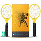 Ostad Electric Fly Swatter AA Battery Powered 2 Pack