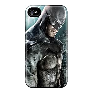 Hot Style WnyfeMT576UfPNi Protective Case Cover For Iphone4/4s(games Batman Arkham Asylum)