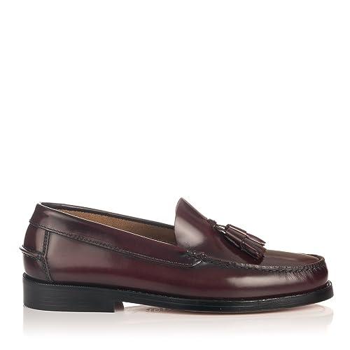 Castellanos con borlas en Burdeos  Amazon.es  Zapatos y complementos d90dfaeffa6e