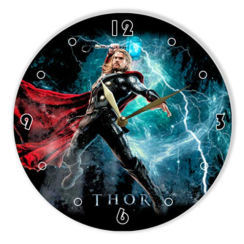 - MiraG Thor Painted Vinyl Clock 12