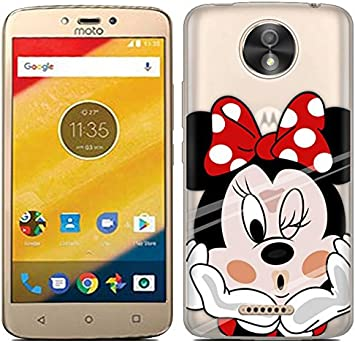 PREVOA Motorola Moto C Plus - Colorful Silicona Funda Case ...