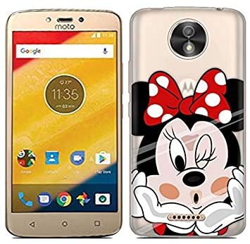Prevoa Motorola Moto C Plus - Colorful Silicona Funda Case Protictive para Motorola Moto C Plus Smartphone - 18