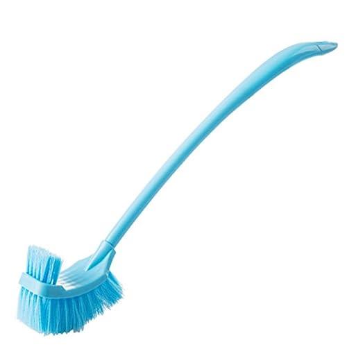 Gespout Cepillo Pelo Cepillo para Inodoro Brush Lavar Curvo Baño Fregadero  Mango Largo Grueso Muro Azul 1pcs  Amazon.es  Hogar 6ff336e70910