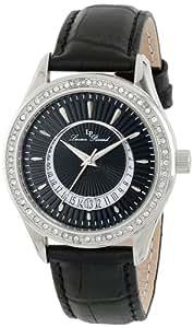 Lucien Piccard Women's LP-12721-01 Staz Analog Display Quartz Black Watch