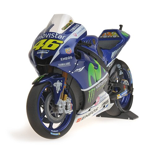 (Yamaha Yzr-M1 Movistar Yamaha Motogp Valentino Rossi Motogp 2016 Test Bike Diecast Motorcycle in 1:12 Scale by Minichamps)