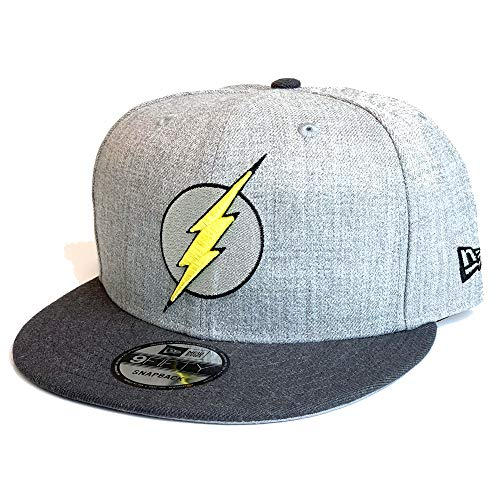 New Era Skate - New Era 9FIFTY DC Flash 950 Snapback Cap - One Size Grey