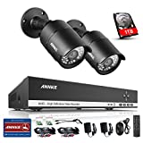 ANNKE 720P Realtime Home Security System 4CH CCTV DVR with 1TB Surveillance Hard Disk Drive and (2) 1280TVL Weatherproof Metal Cameras, P2P Cloud Remote Viewing, Motion Detection Review