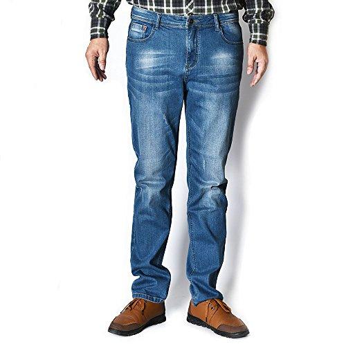 DWG Men's101 Classic Relaxed Straight Loose Jean 5 Pocket Denim (34W x 32L, Classic03)